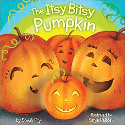 cover of itsy bitsy pumpkin