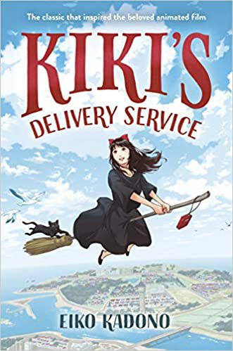Cover image of the book Kikis Delivery Service with animal companion Jiji
