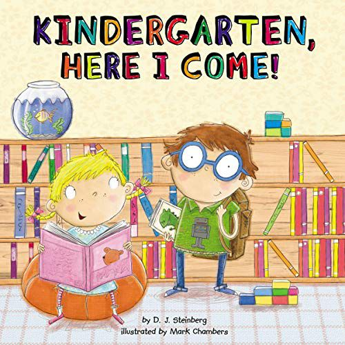 cover of kindergarten here i come
