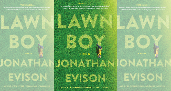 three Lawn Boy covers side by side