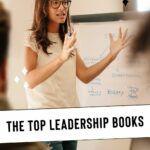 Pinterest image for leadership books