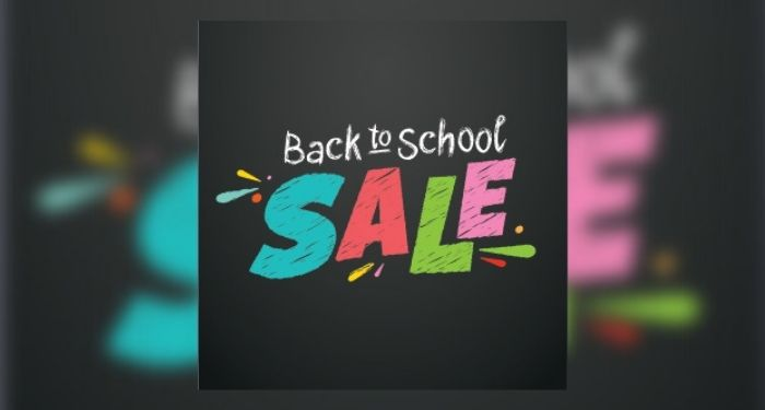 """""""Back to School sale"""" text for Libby giveaway"""