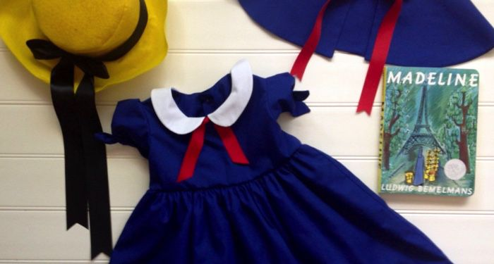 Image of Madeline-inspired dress.