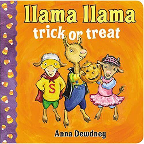 cover of llama-llama-trick-or-treat