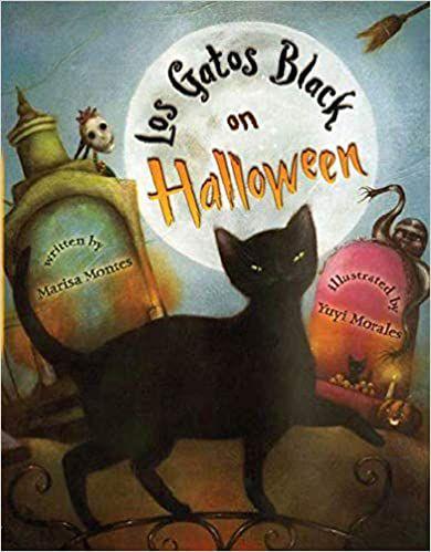 cover of los gatos black on halloween