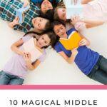 pinterest image for middle grade readers