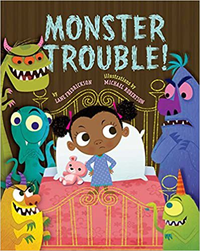 cover of monster trouble