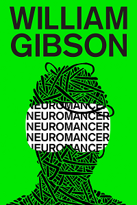 Neuromancer by William Gibson book cover