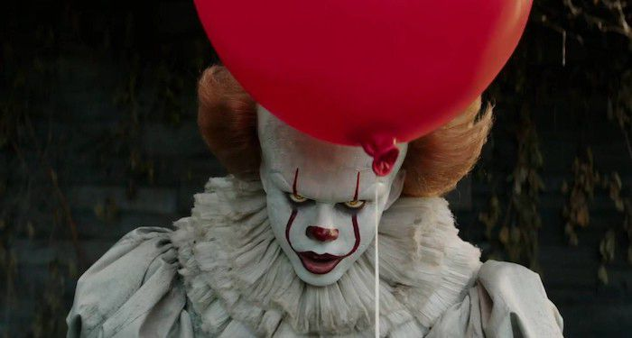 Pennywise and a red balloon