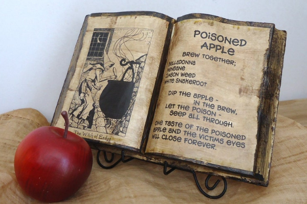Poison Apple Spell Book