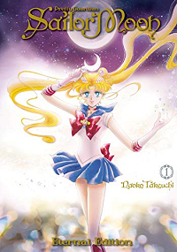 Pretty Guardian Sailor Moon by Naoko Takeuchi book cover