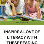 Pinterest image for reading games for kids