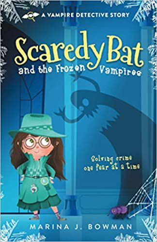 cover of scaredy bat and the frozen vampires