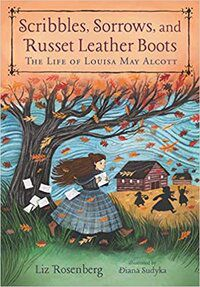 Cover of Scribbles, Sorrows, and Russet Leather Boots by Rosenberg