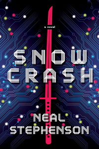 Snow Crash by Neal Stephenson book cover