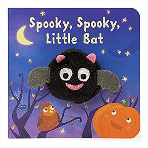 cover of spooky spooky little bat