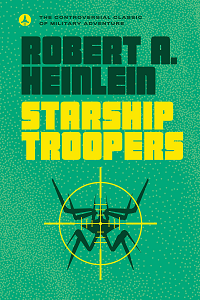 Starship Troopers by Robert A. Heinlein book cover