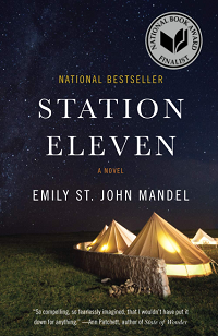 Station Eleven by Emily St. John Mandel book cover