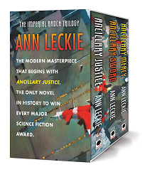 The Imperial Radch Trilogy by Ann Leckie book cover