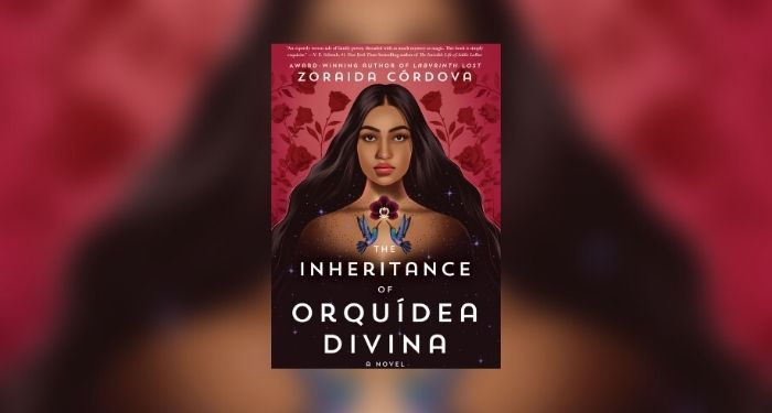 The Inheritance of Orquidea Divina book giveaway cover