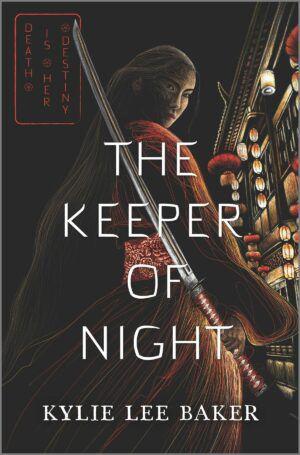The Keeper of Night cover dark fantasy books