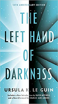 The Left Hand of Darkness by Ursula K. Le Guin book cover