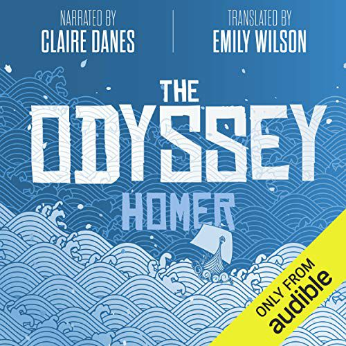 Couverture du livre audio de l'Odyssée traduit par Emily Wilson