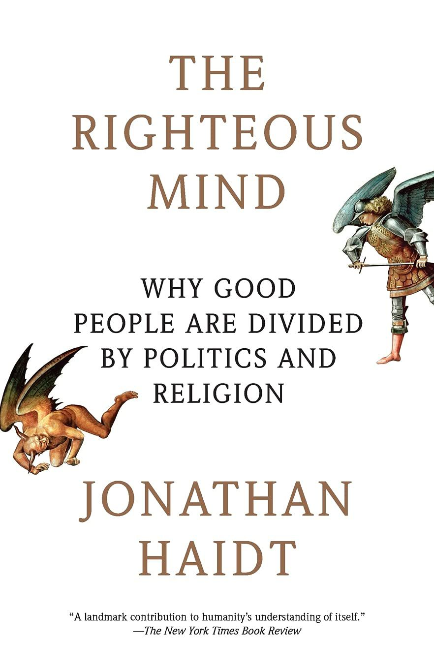 The righteous mind cover