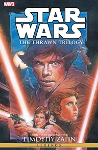 The Thrawn Trilogy by Timothy Zahn book cover