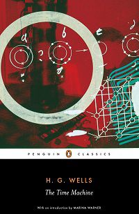 The Time Machine by H.G. Wells book cover