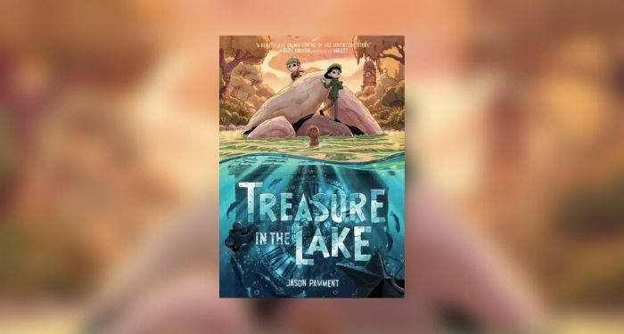 Treasure in the Lake giveaway cover