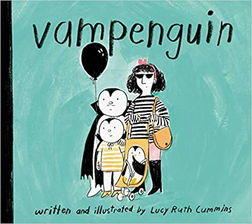 cover of vampenguin by lucy ruth cummins