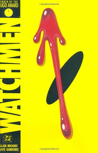 Watchmen by Alan Moore and Dave Gibbons book cover