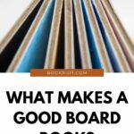 what makes a good board book pinterest image