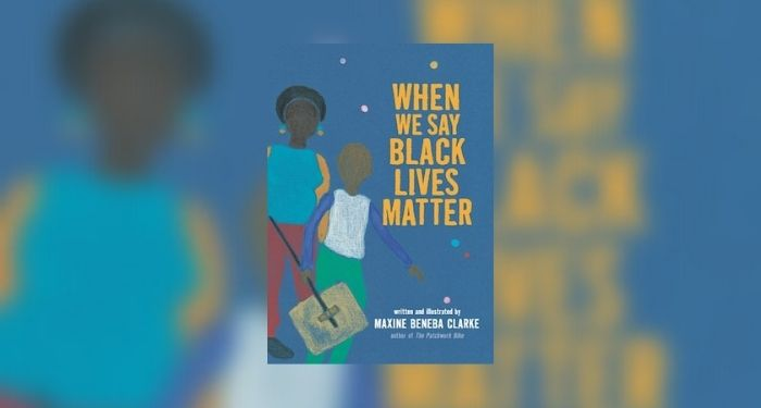 When We Say Black Lives Matter book giveaway cover