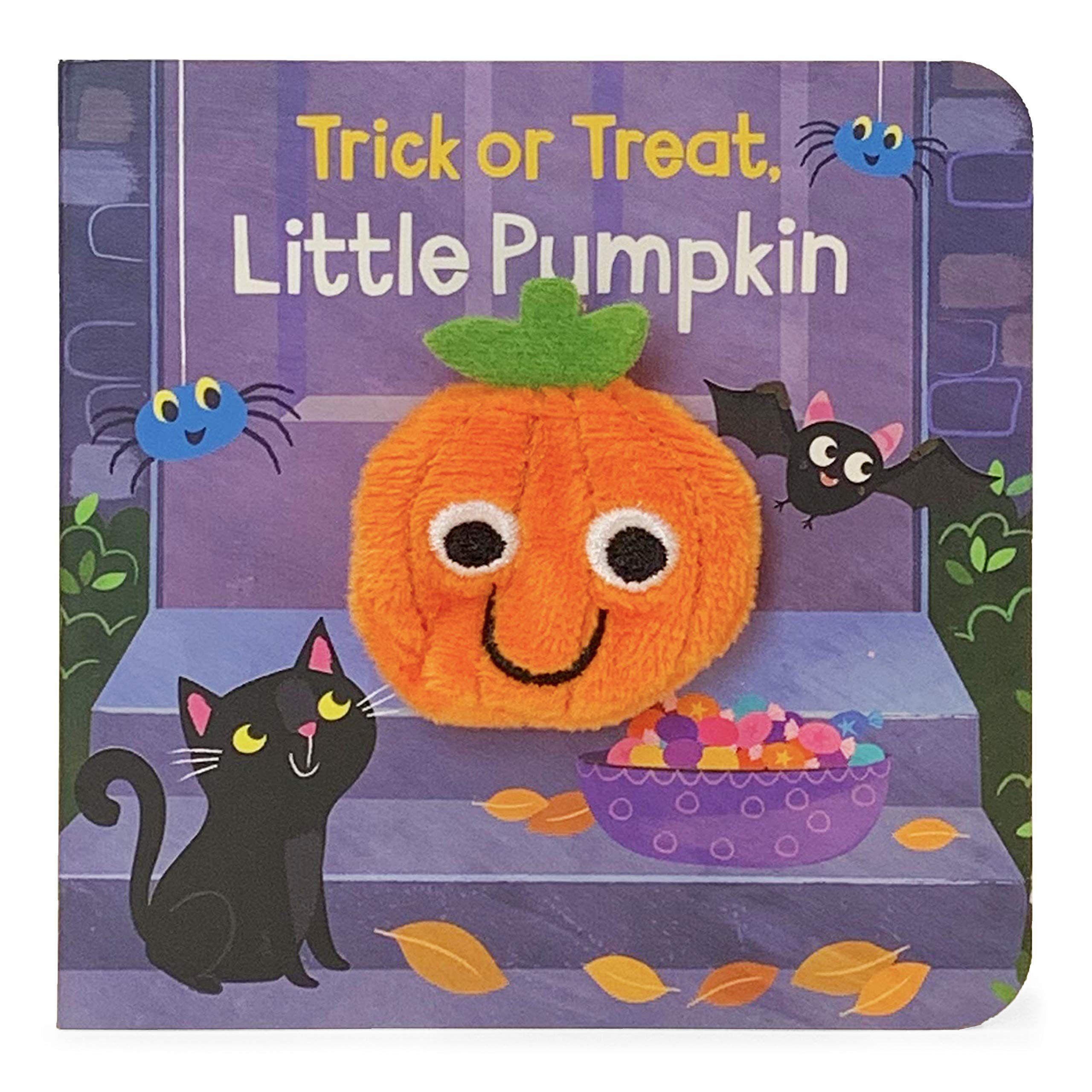 trick or treat little pumpkin