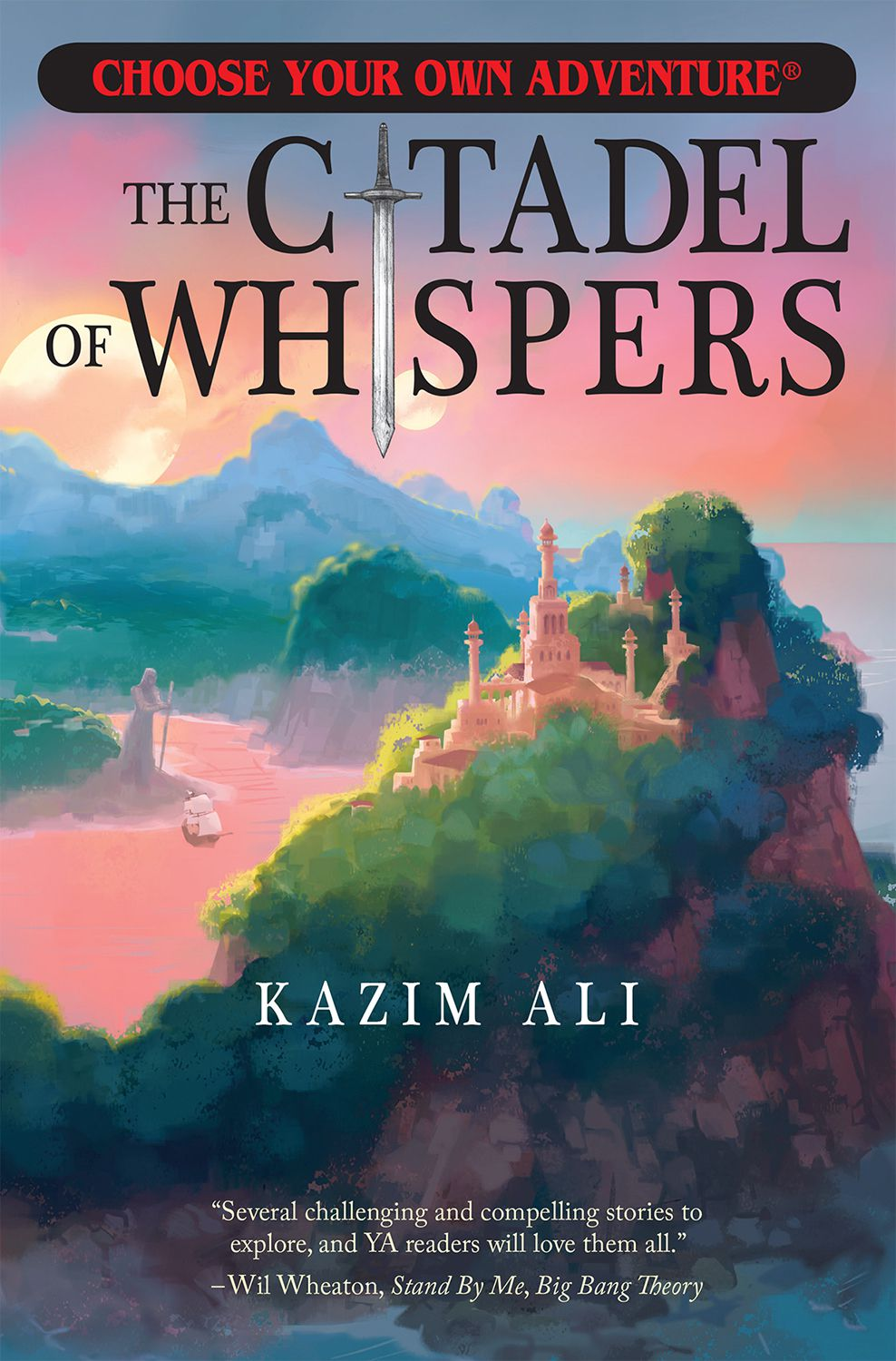 Book cover of The Citadel of Whispers by Kazim Ali