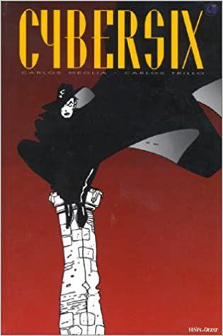 Cybersix Comic Book Cover