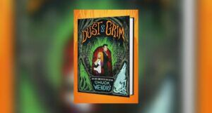 Book cover of Dust & Grim by Chuck Wendig