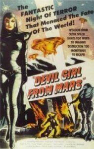 Devil Girl From Mars movie poster