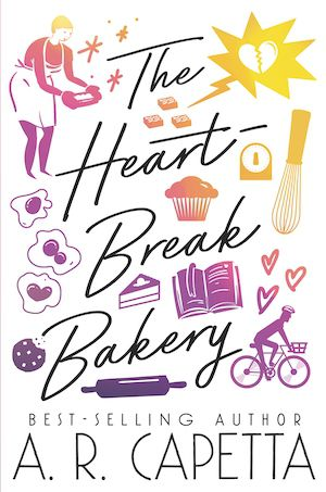 Book cover of The Heartbreak Bakery by A.R. Capetta