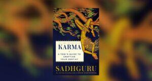 Book cover of Karma: A Yogi's Guide to Crafting Your Destiny by Sadhguru