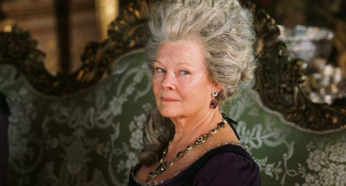 a still of Lady Catherine de Bourgh from Pride and Prejudice