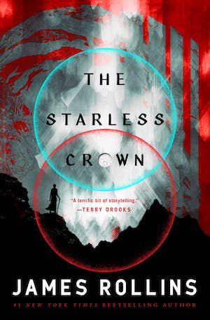 Book cover of THE STARLESS CROWN by James Rollins