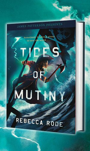 Book cover of TIDES OF MUTINY by Rebecca Rode