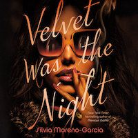 A graphic of the cover of Velvet Was the Night by Silvia Moreno-Garcia