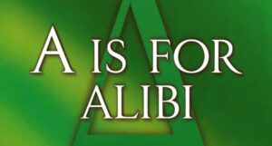 a is for alibi book cover close up