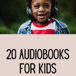 pinterest image for audiobooks for kids