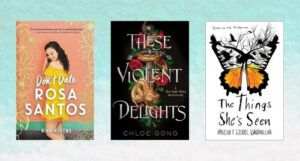 collage of YA book covers for ebook deals