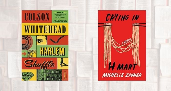 B&N top books cover collage